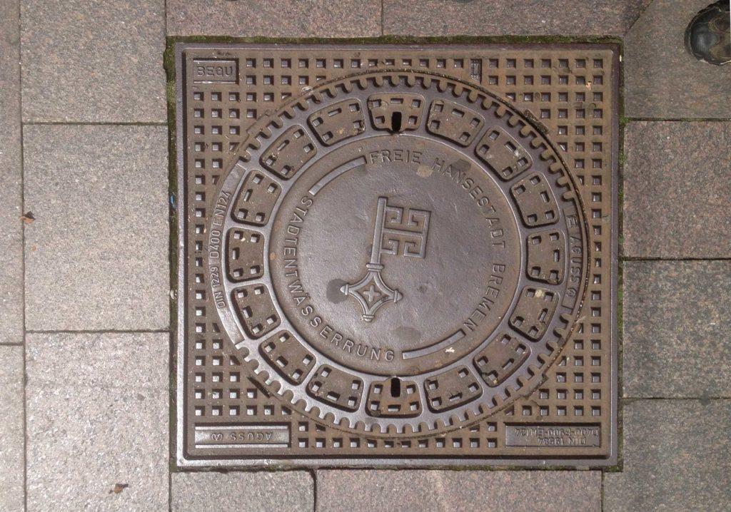 Kanaldeckel Bremen
