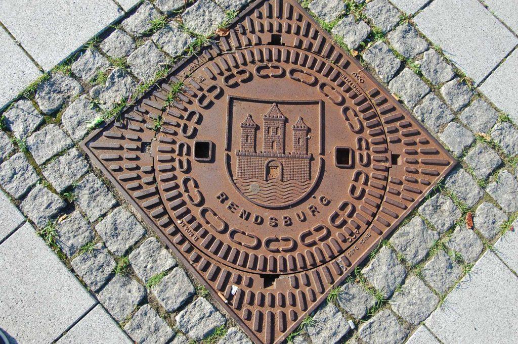 Kanaldeckel Rendsburg